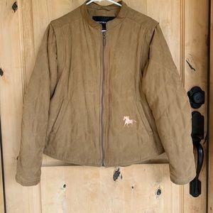 Western Cowgirl Horse Jacket by Weatherproof -L